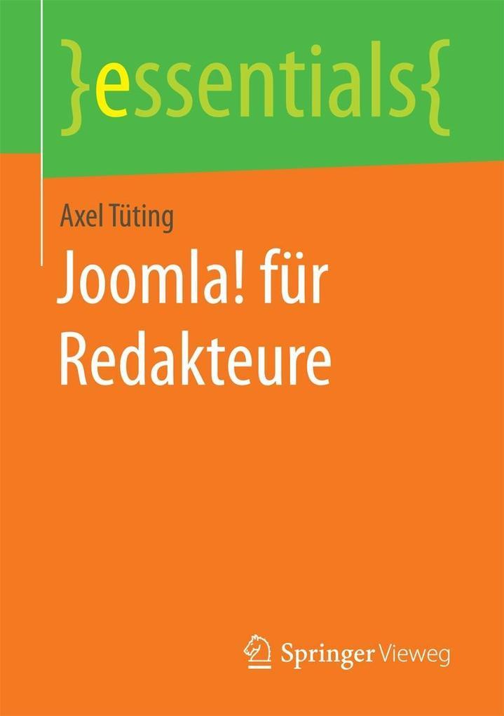 Joomla! für Redakteure als eBook