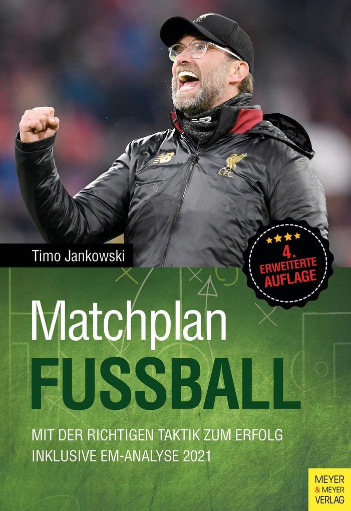 Matchplan Fußball als Buch (gebunden)