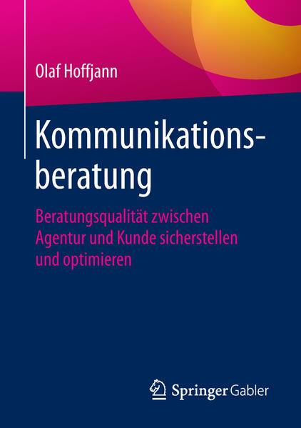 Kommunikationsberatung als Buch