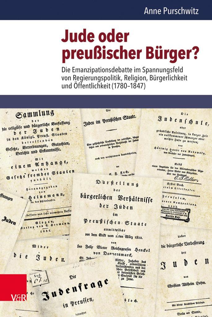 Jude oder preußischer Bürger? als eBook pdf