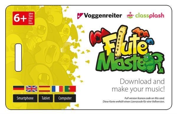 deutsche Griffweise mit Blockflöte aus Holz-Kunststoff Neu Flute Master App