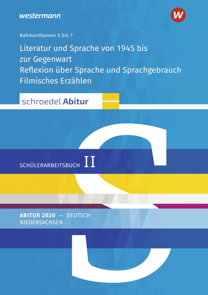 Schroedel Abitur - Ausgabe für Niedersachsen 2020. Deutsch - Jahrgangsstufe 13 als Buch (gebunden)