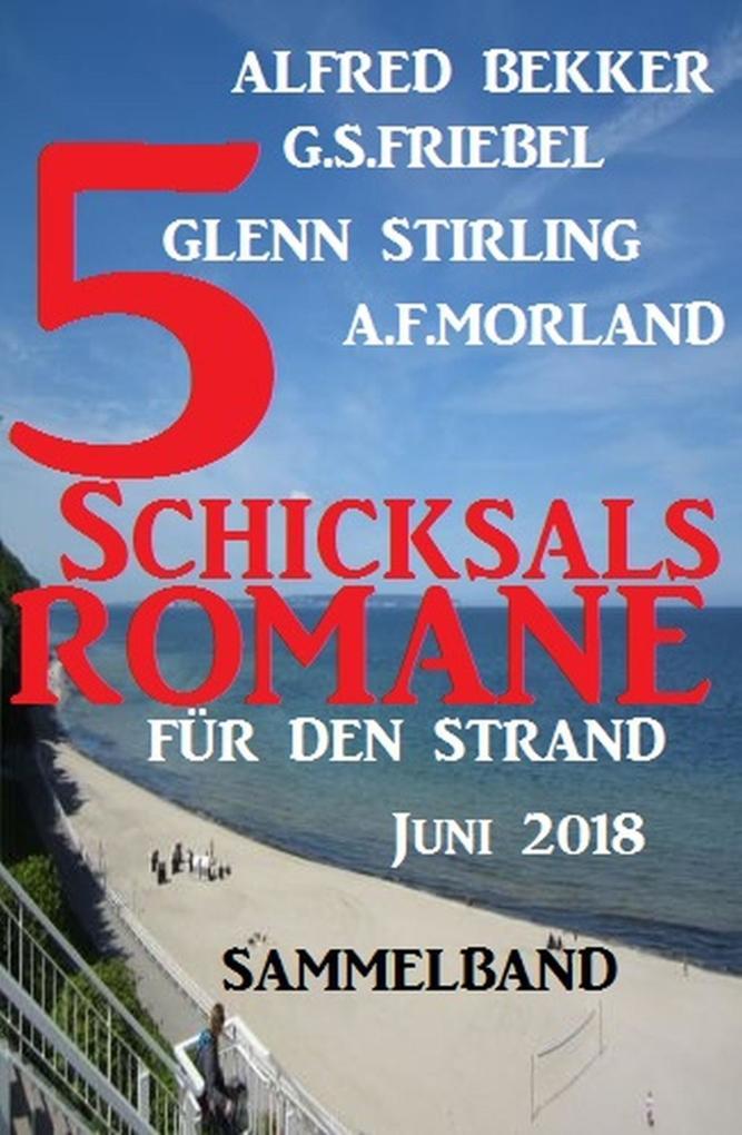 Sammelband 5 Schicksalsromane für den Strand Juni 2018