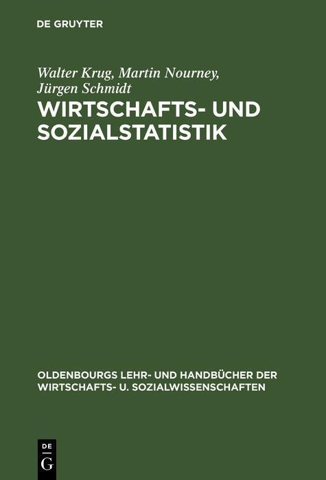 Wirtschafts- und Sozialstatistik als eBook