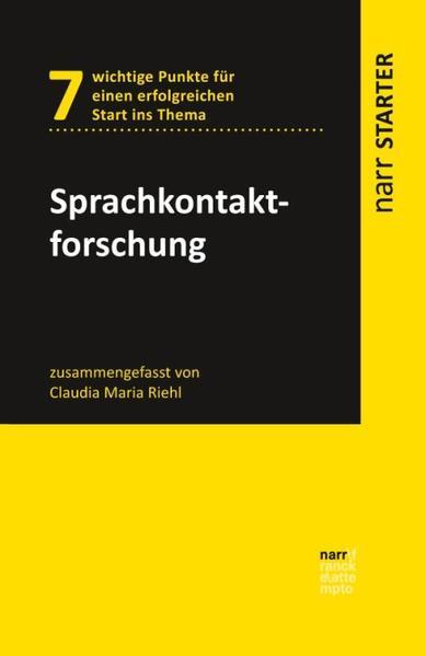 Sprachkontaktforschung als Taschenbuch