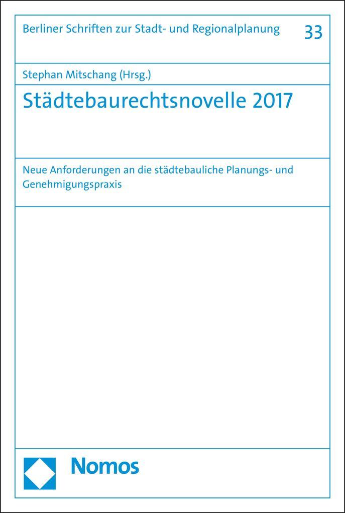 Städtebaurechtsnovelle 2017 als eBook pdf