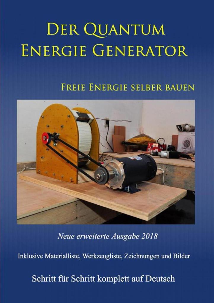 Der Quantum Energie Generator als eBook