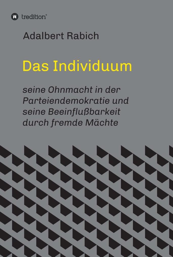 Das Individuum als eBook