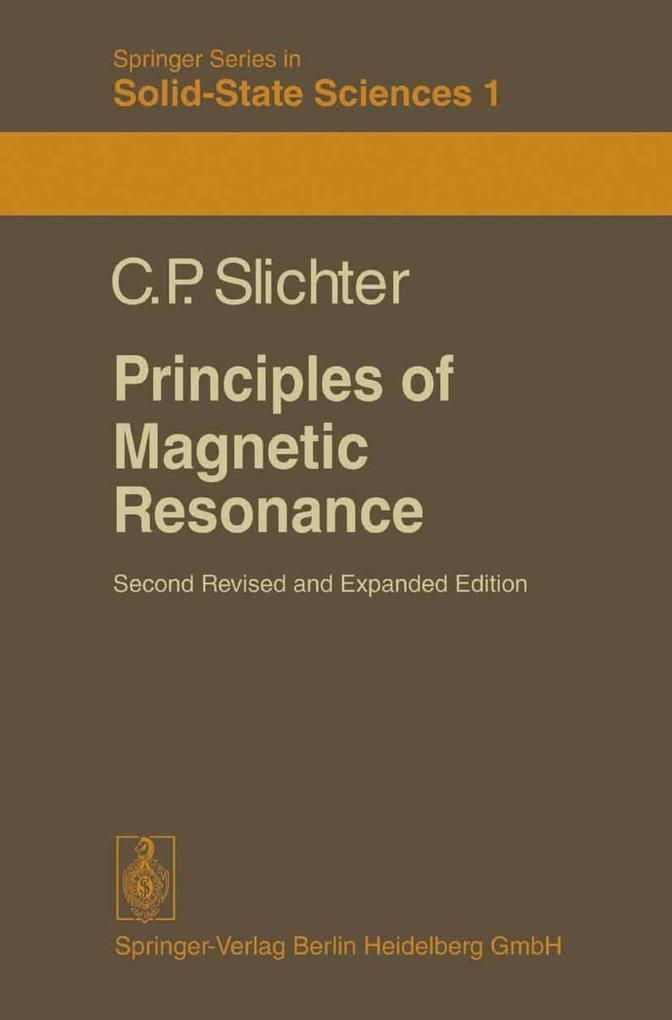Principles of Magnetic Resonance als eBook
