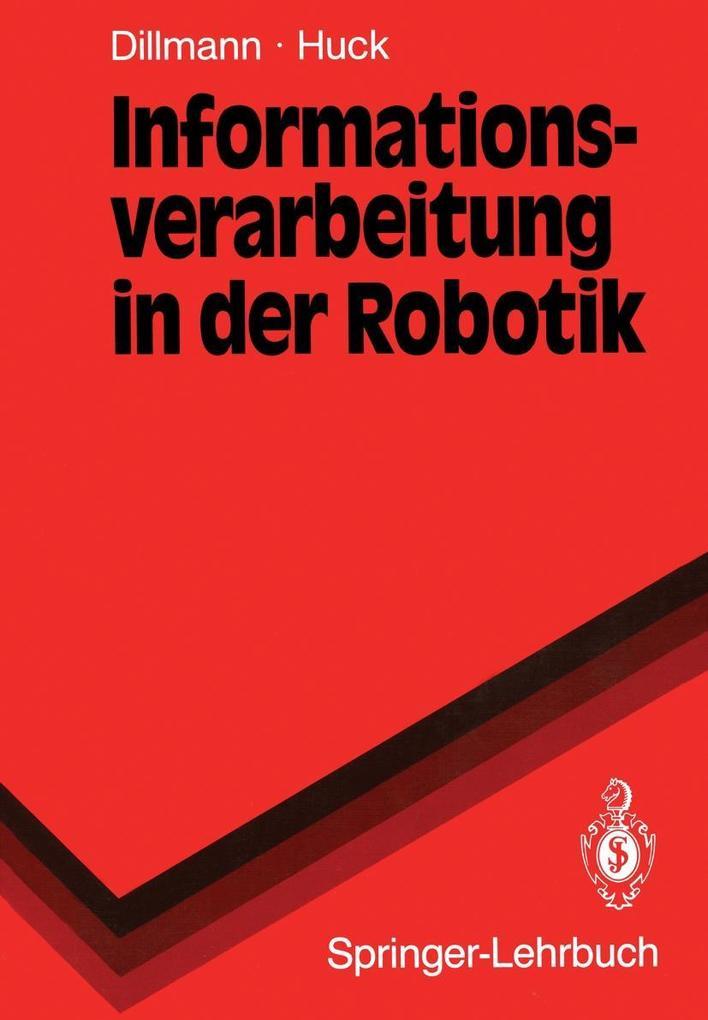 Informationsverarbeitung in der Robotik als eBook