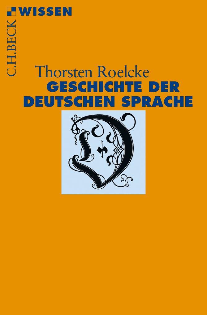 Geschichte der deutschen Sprache als Taschenbuch