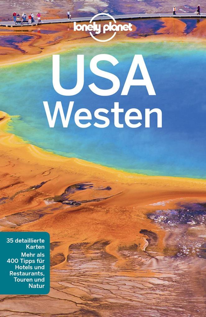 Lonely Planet Reiseführer USA Westen als eBook