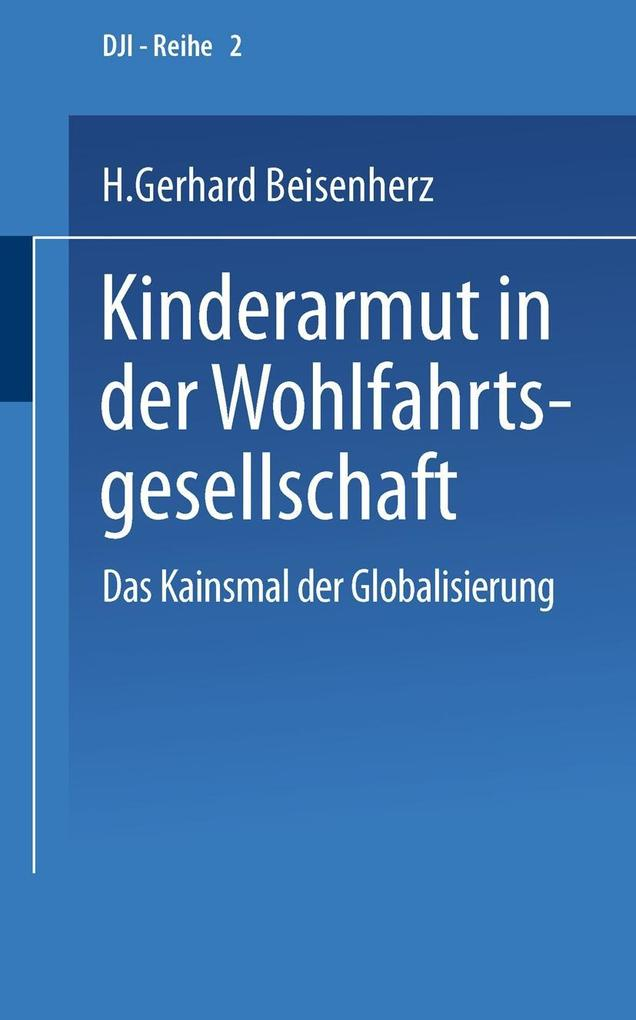 Kinderarmut in der Wohlfahrtsgesellschaft als eBook