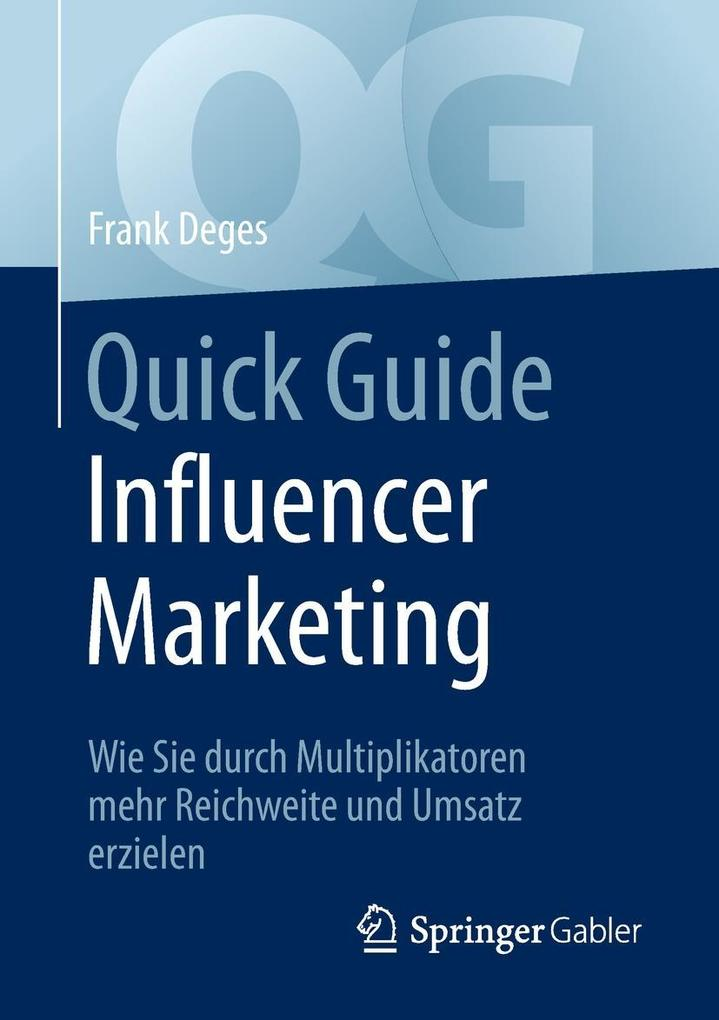 Quick Guide Influencer Marketing als eBook