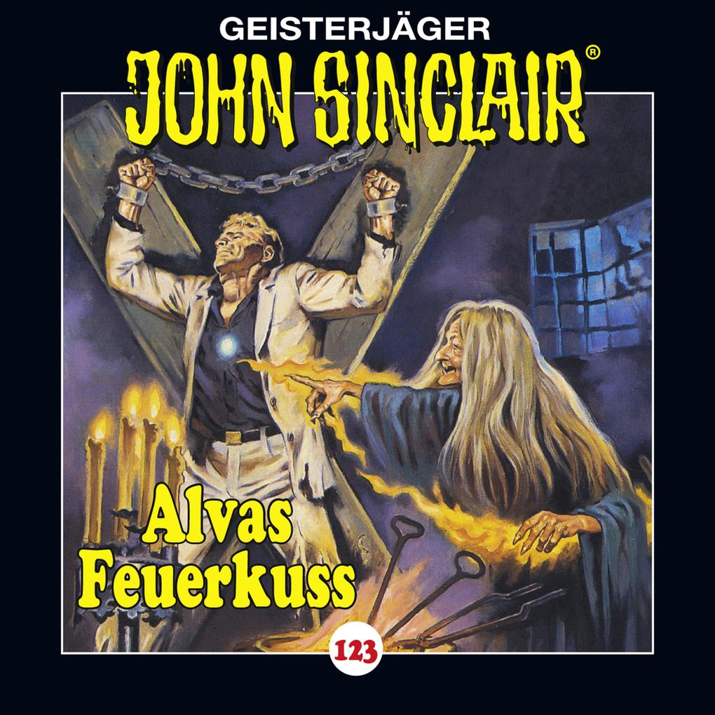 John Sinclair, Folge 123: Alvas Feuerkuss als Hörbuch Download