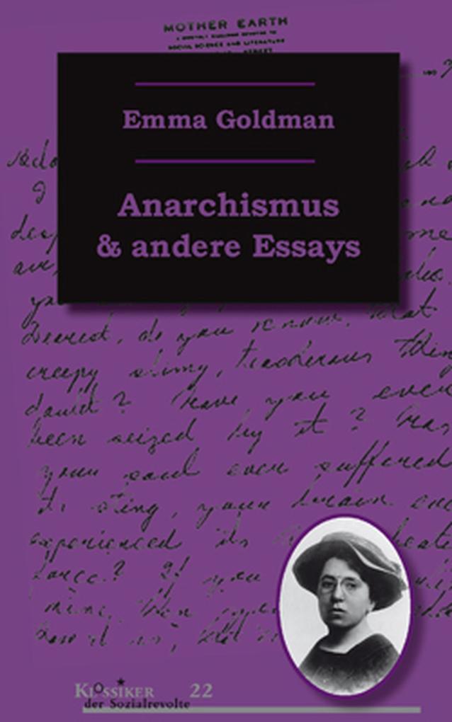 Anarchismus und andere Essays als eBook