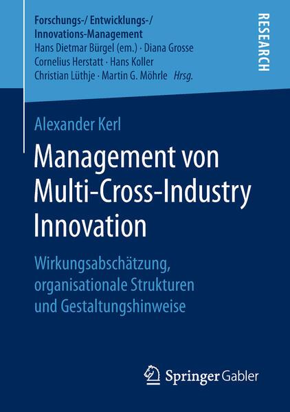 Management von Multi-Cross-Industry Innovation als Buch