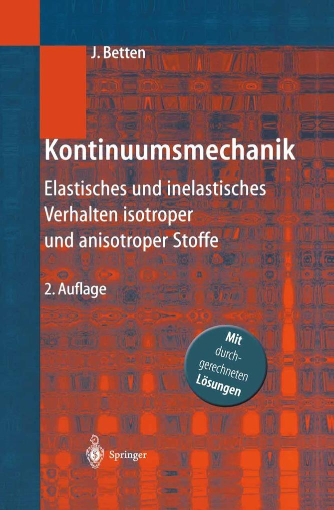 Kontinuumsmechanik als eBook