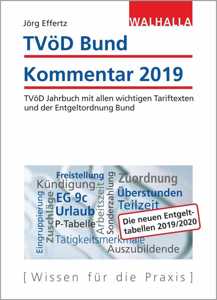 TVöD Bund Kommentar 2019 als Buch