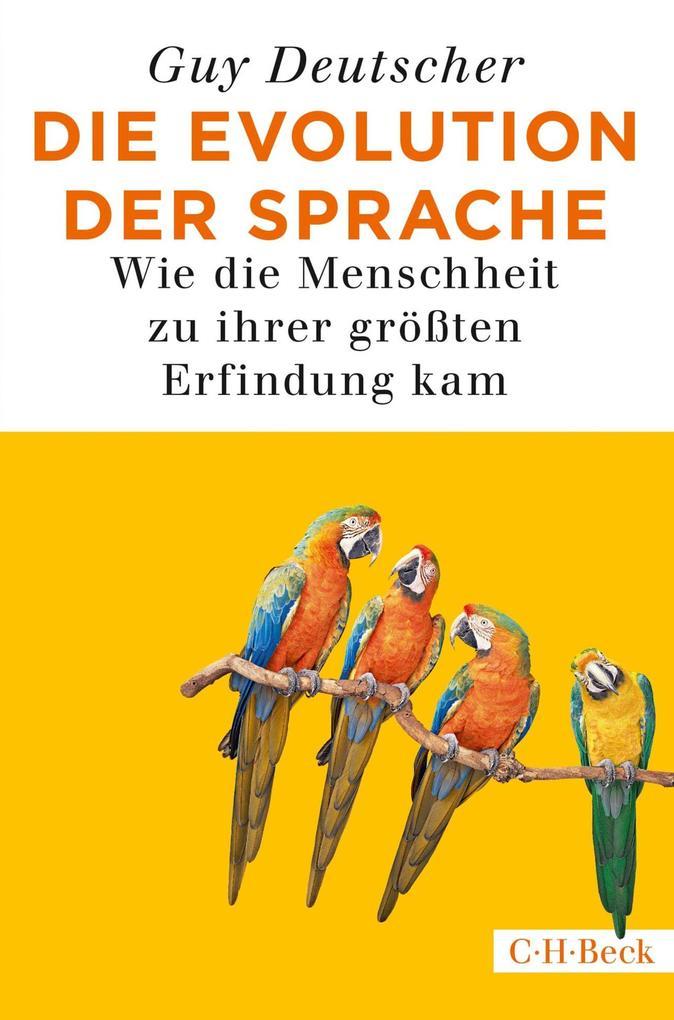 Die Evolution der Sprache als eBook