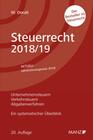 Steuerrecht 2018/19 Ein systematischer Überblick