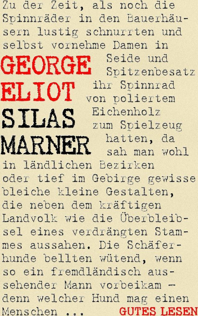 Silas Marner als eBook epub