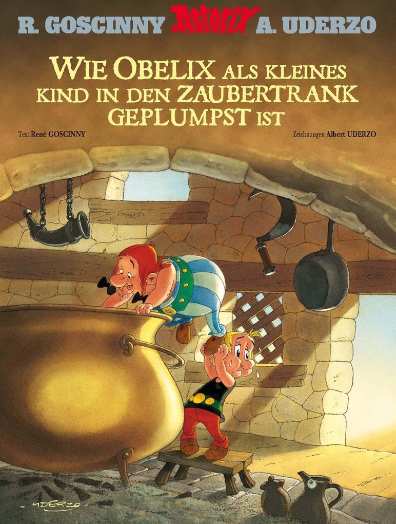 Wie Obelix als kleines Kind in den Zaubertrank geplumpst ist als eBook