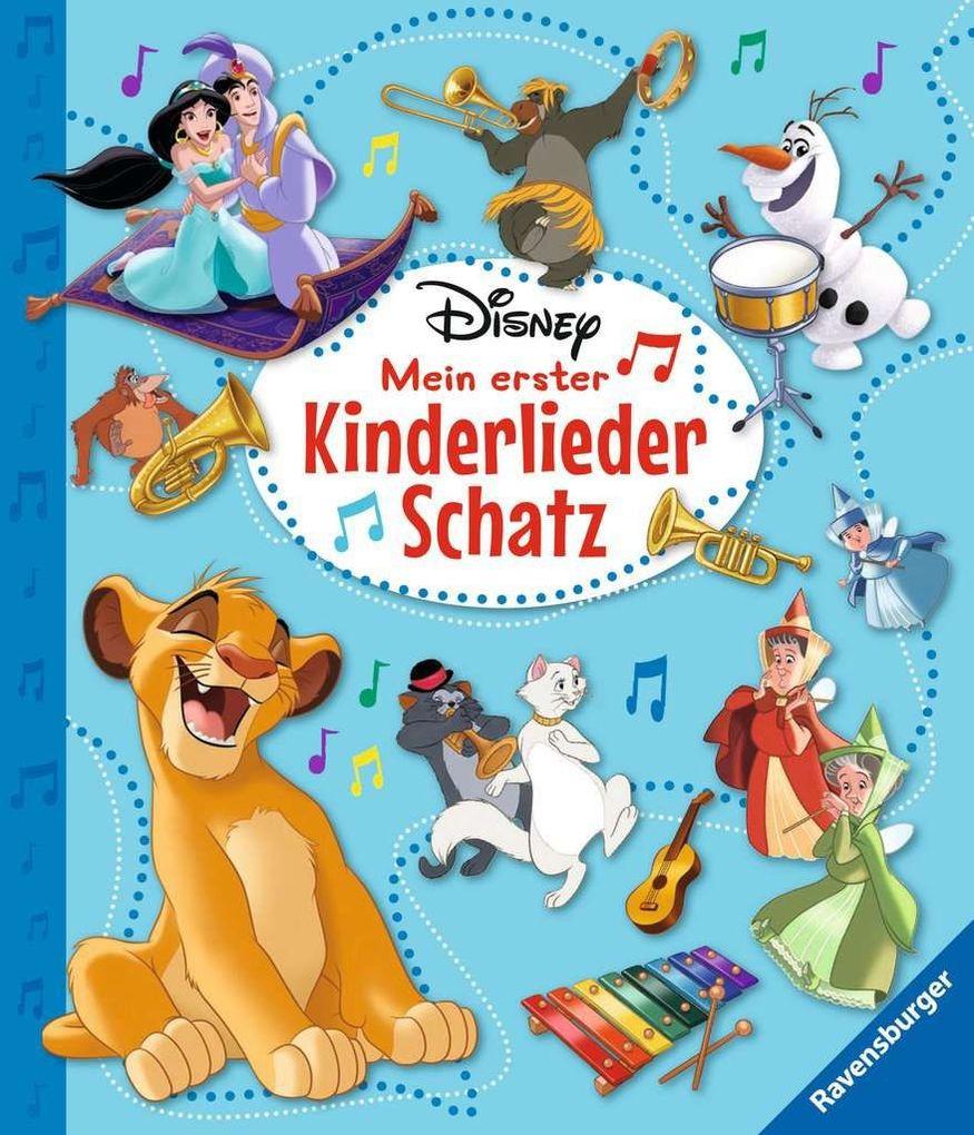 Disney Mein erster Kinderliederschatz - Mit Notensatz als Buch