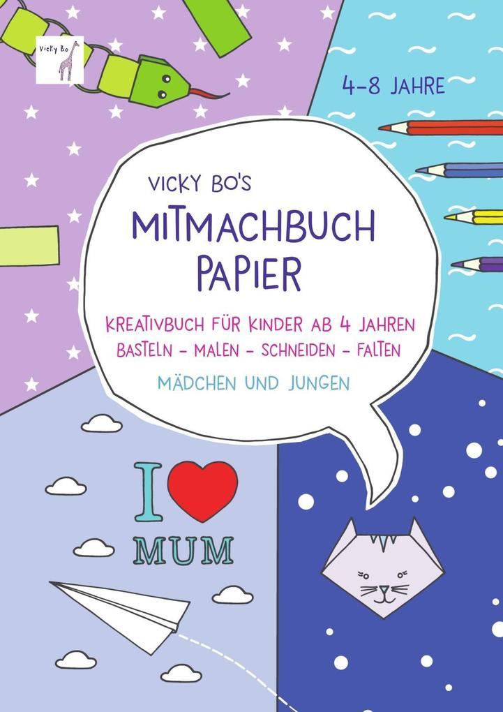 Vicky Bo's Mitmachbuch Papier als Buch