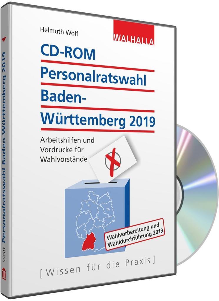 CD-ROM Personalratswahl Baden-Württemberg 2019 als Software