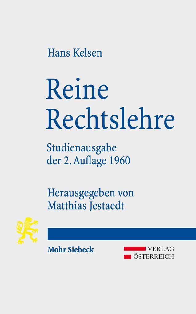 Reine Rechtslehre als eBook pdf