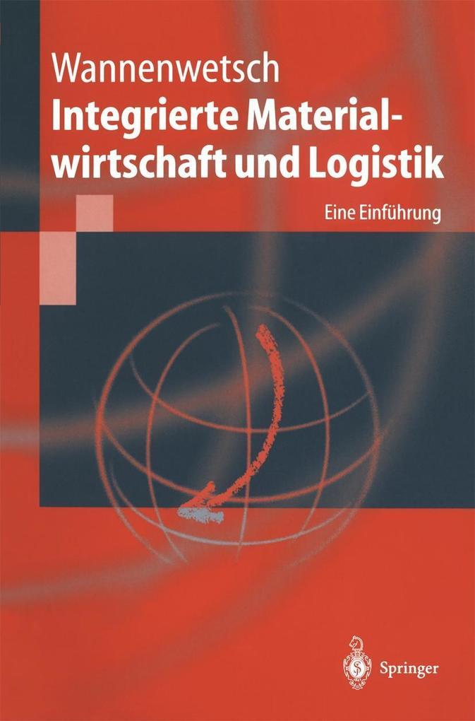 Integrierte Materialwirtschaft und Logistik als eBook