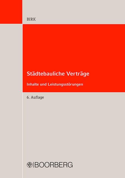 Städtebauliche Verträge als Buch (kartoniert)