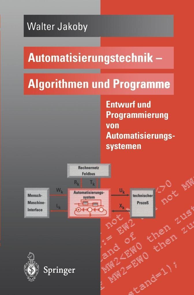 Automatisierungstechnik - Algorithmen und Programme als eBook