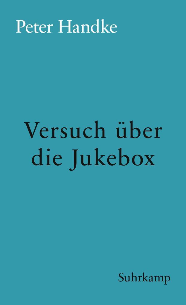 Versuch über die Jukebox als eBook