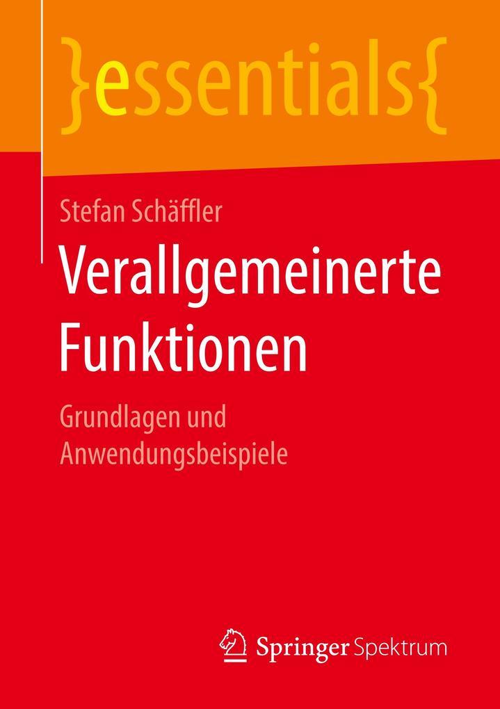 Verallgemeinerte Funktionen als Buch