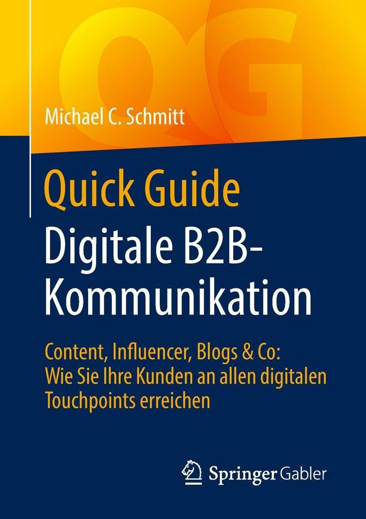 Quick Guide Digitale B2B-Kommunikation als eBook