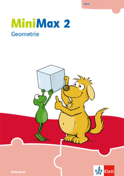 MiniMax 2. Themenheft Geometrie - Verbrauchsmaterial Klasse 2 als Buch