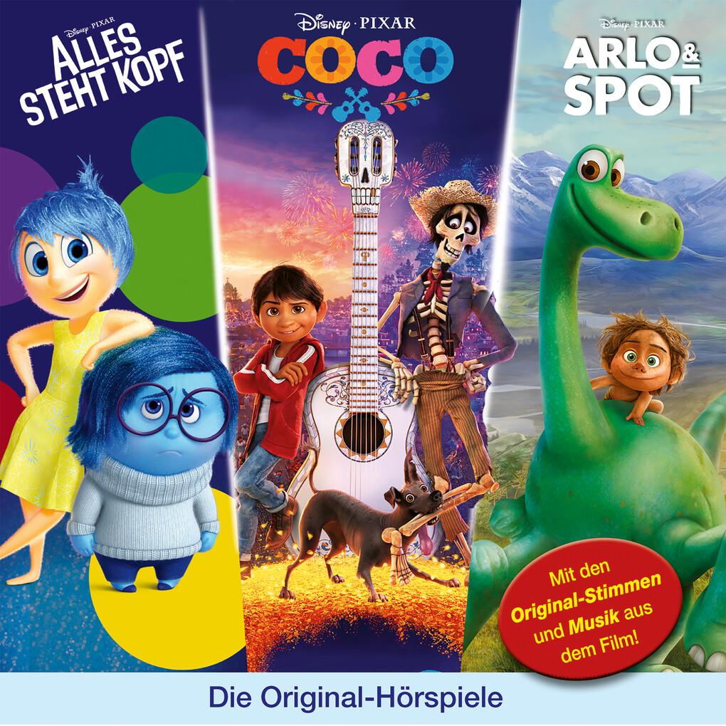 Disney/Pixar - Arlo & Spot/ Alles steht Kopf/ Coco als Hörbuch Download