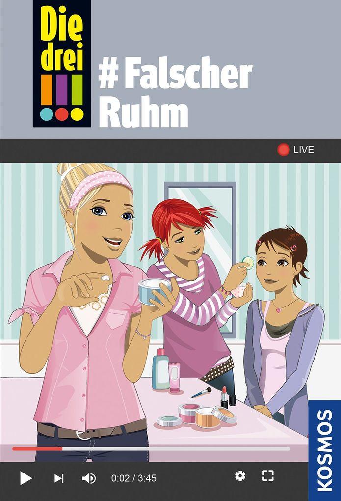 Die drei !!!, 76, #Falscher Ruhm als Buch