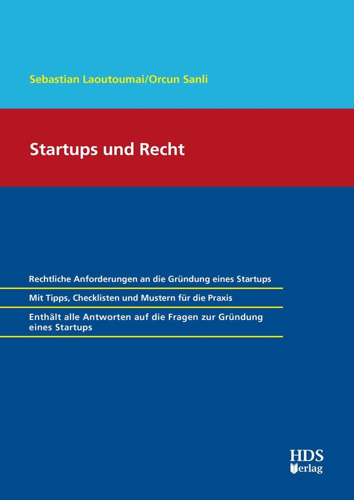 Startups und Recht als eBook