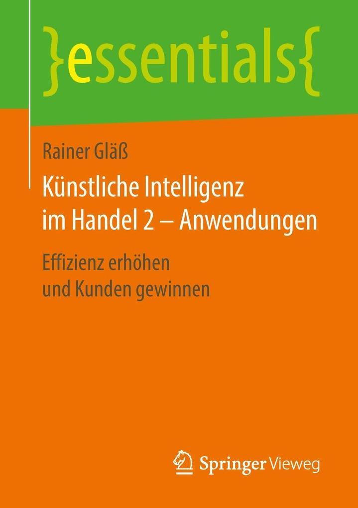 Künstliche Intelligenz im Handel 2 - Anwendungen als eBook pdf