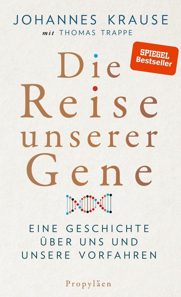 Die Reise unserer Gene als Buch
