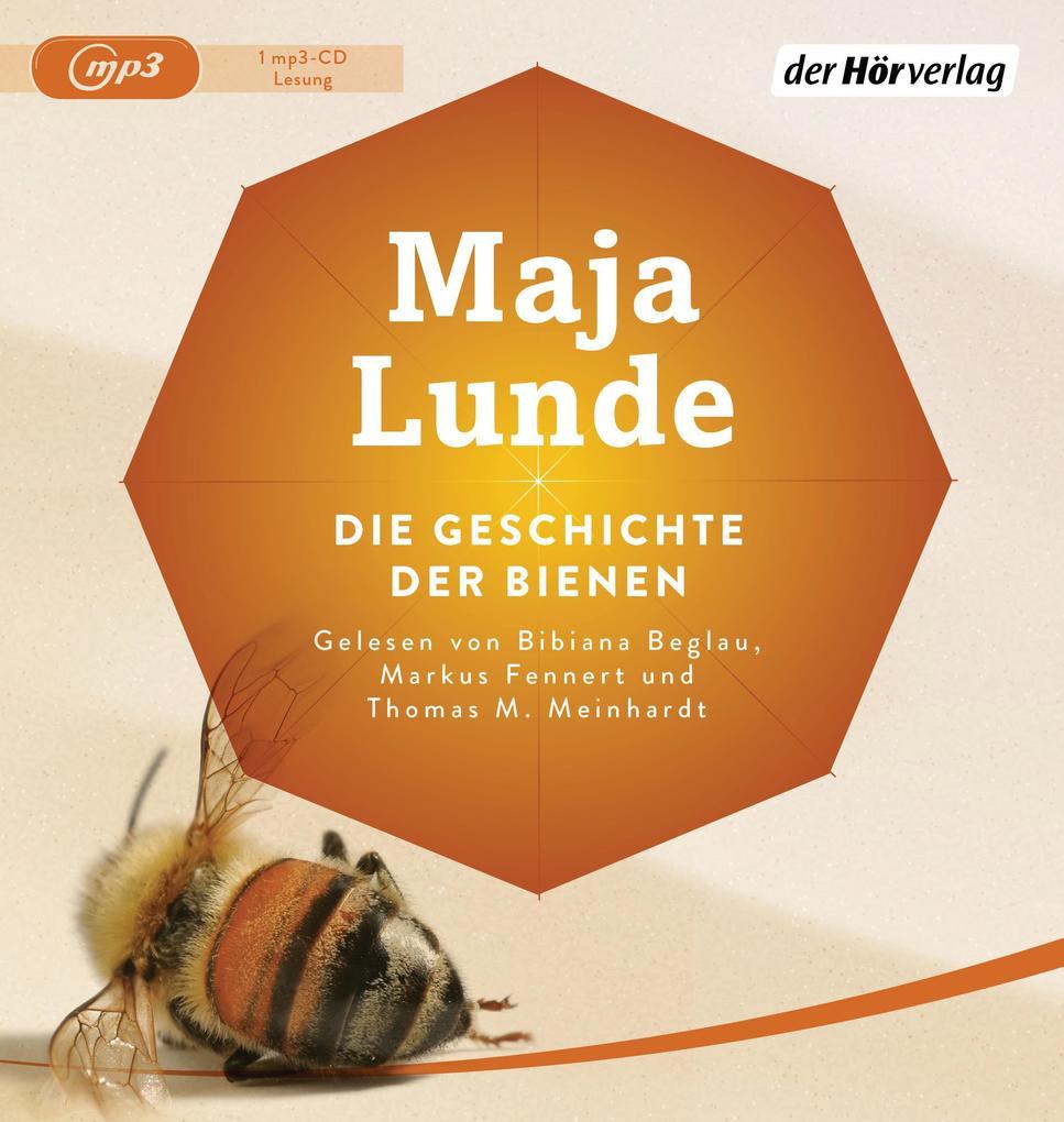 Die Geschichte der Bienen als Hörbuch CD