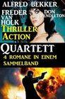 Thriller Action Quartett November 2018 - 4 Romane in einem Sammelband