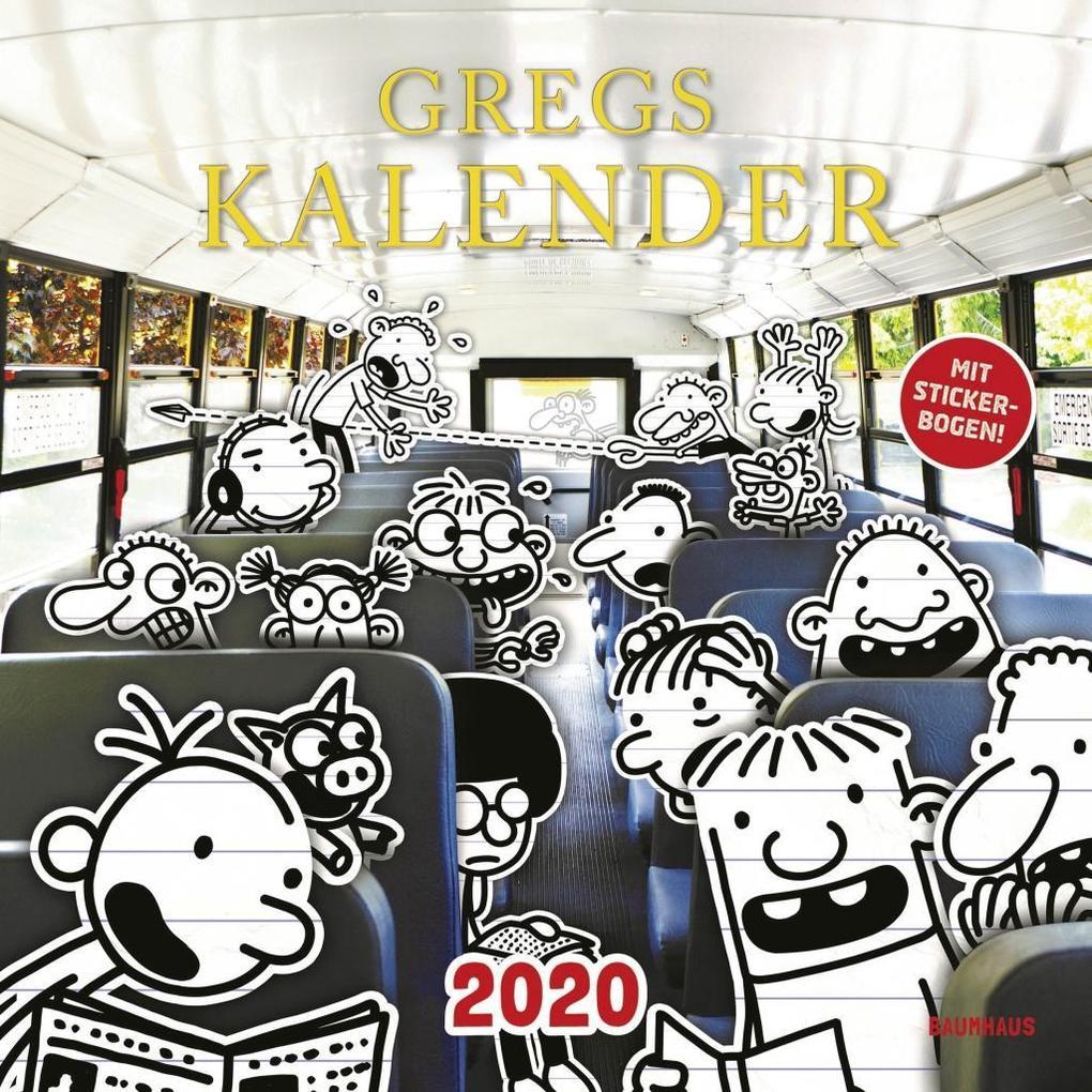 Gregs Kalender 2020 als Kalender
