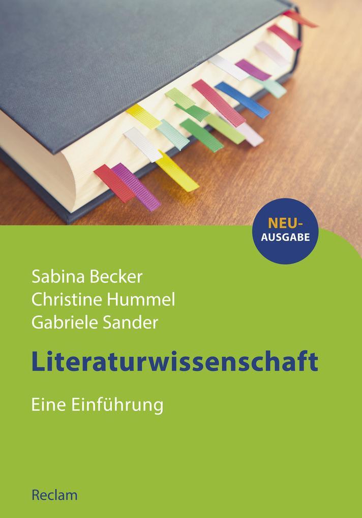 Literaturwissenschaft. Eine Einführung als eBook
