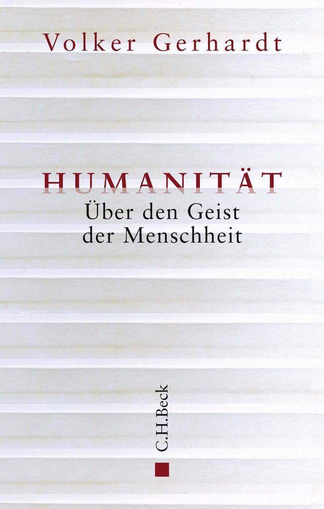Humanität als Buch