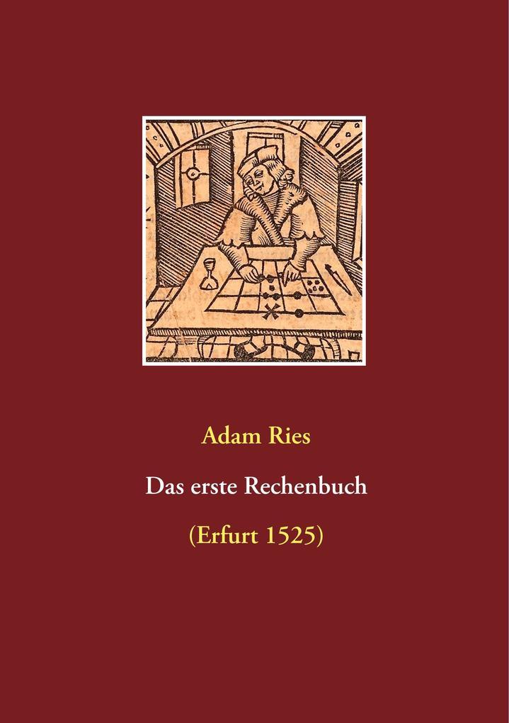 Das erste Rechenbuch als Buch