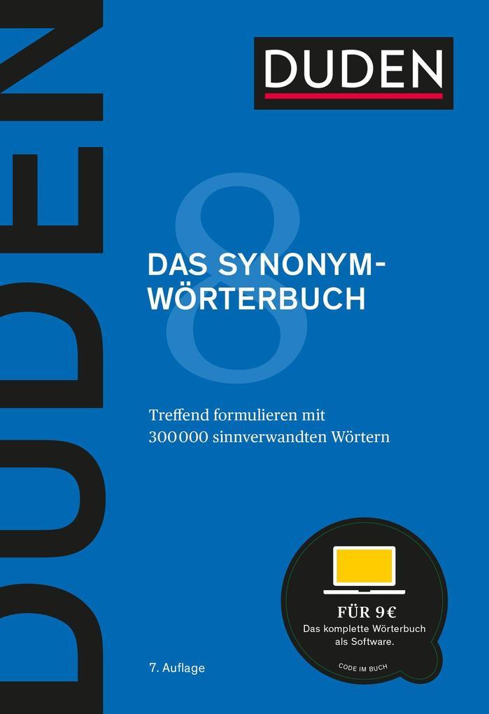 Duden - Das Synonymwörterbuch als Buch